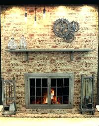 stainless steel fireplace doors stainless steel outdoor fireplace doors