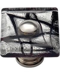 square glass cabinet knobs. Atlas Homewares 3207-CH Eclipse Square Glass Cabinet Knob Knobs