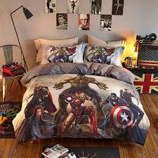 marvel super heroes teens bedding set twin queen size 2 600x600 marvel super heroes teens