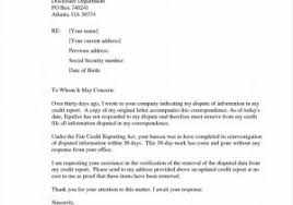 Examples Of Credit Reports And 11 Biology Lab Report Examples Letter