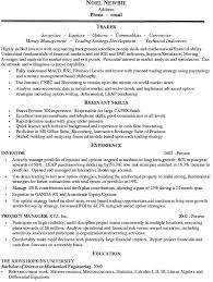 Amazing Sales And Trading Resume Contemporary - Simple resume .