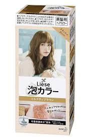 Kao Liese Soft Bubble Hair Color Milk Tea Brown