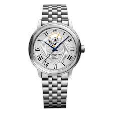 raymond weil maestro men s skeleton bracelet watch ernest jones raymond weil maestro men s skeleton bracelet watch product number 4109996