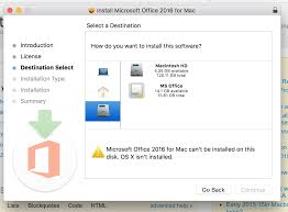 how to install microsoft office on mac macbook pro 2015 install app on external drive including a