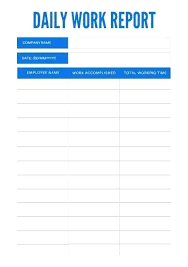 Simple Sales Report Daily Reports Template Wordsmithservices Co