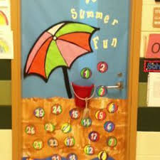 Fine Summer Classroom Door Decorations Camp Ik C To Concept Design