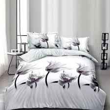 3d effect flower bedding set with duvet