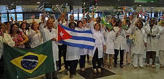 Resultado de imagen para médicos cubanos en brasil