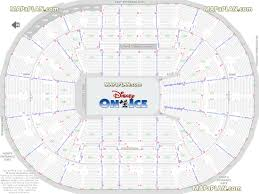 Disney On Ice Moda Center Seating Chart Amway Seating Chart Disney On Ice Elcho Table