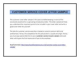 Cover Letter Examples, Template, Samples, Covering Letters, Cv ... Sample Resume Cover Letter For Customer Service. best customer .