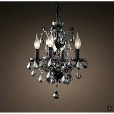 smoke crystal chandelier c rococo smoke crystal chandelier a modern industrial lighting design on smoke grey