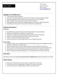 Horticulture Resume Template Chronological Functional