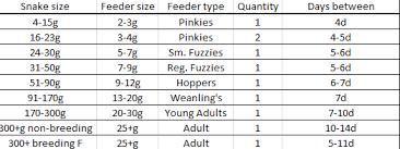 Corn Snake Feeding Chart My Files File Catalog Repticake