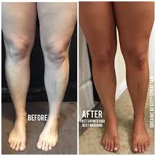 Before And After Tan Best Tanning Lotion Tanning Solution