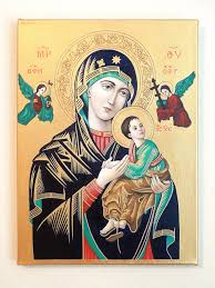 religious icon for easter present our lady of perpetual help by everylittleprayer 350 00