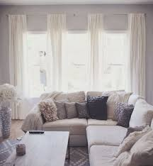 Like this four panel curtain style for our three windows in the living  room? With