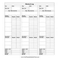 weight training planning if youre into weight training this free printable workout log can
