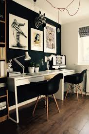 ... Prissy Inspiration Black And White Office Decor 7 FAVOURITE HOME OFFICES  OF 2015 ...