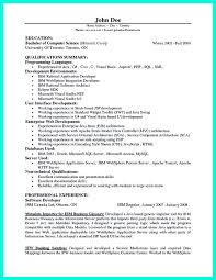 Sample Programmer Resume Resume Of Java Developer Spectacular Core Sample Software Programmer 14