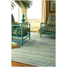 home cotton green yellow white area rug reviews and blue