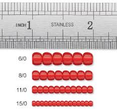 Seed Bead Size Chart Seed Bead Size Chart Printable Www Bedowntowndaytona Com