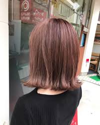 Hair Blancoさんのヘアスタイル パープルピンクボブ美容 Tredina