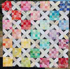 144 best Kansas City Dugout images on Pinterest | Quilting ideas ... & Munchkin Land Quilt - love the mix of the two blocks | tracey jay Adamdwight.com