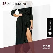 Boohoo Plus Size Chart Boohoo Zoe Slink Wrap Dress Plus U S 16 Boohoo Slink Wrap