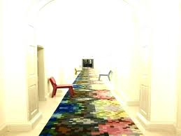 entryway rug runner modern entry