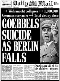 「Goebbels had killed himself」の画像検索結果