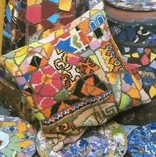 Paternayan Colour Chart Details About Broken Tile Cushion Tapestry Needlepoint Colour Chart Kaffe Fassett