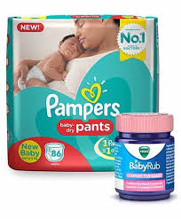 pers pant style diapers new born 86 pieces vicks babyrub soothing vapor ointment for