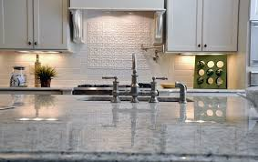a great close up of some bianco romano countertops