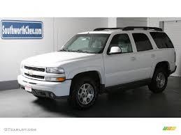 2001 Summit White Chevrolet Tahoe LT 4x4 #34095659 | GTCarLot.com ...