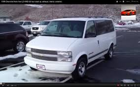 All Chevy 95 chevy astro van : 1996 Chevrolet Astro Van LS AWD full tour (start up, exhaust ...