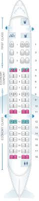 Crj7 Seating Chart Seat Map Delta Air Lines Bombardier Crj 700 Seatmaestro