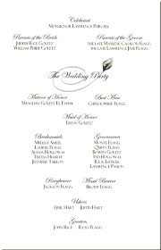 sample wedding program wording wedding programs wording examples basic also sample ausafahmad info