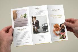 20 Stunning Minimal Tri Fold Brochure Templates Bashooka