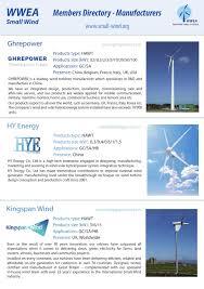 Wind Turbine System Design Small Wind World Report 2016 Summary By Jean Pitteloud Issuu
