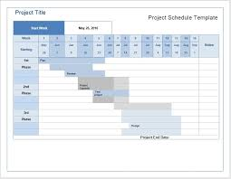 Microsoft Word Schedule Templates Project Schedule Template Microsoft Word Templates