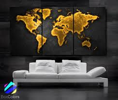 office world map. LARGE 30 Office World Map