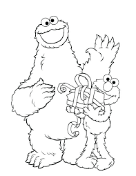 elmo birthday coloring pages. Unique Birthday Birthday Coloring Pages Printable Free As Page Sesame Street Elmo Happy  Happy Intended L