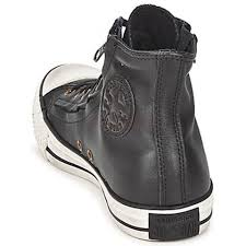 converse zip up shoes. bc9u0 women\u0027s shoes converse all star double zip leather hi jet black up
