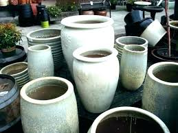 clay garden pots extra large ceramic for e outdoor plants