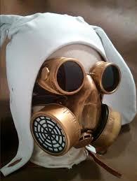 leather bunny hood mask