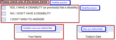 Configuring The Ofccp Disability Form