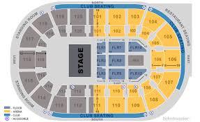 Hertz Arena Seating Chart