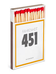 hamish robertson s cover for fahrenheit 451 book