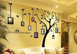 photo frame wall decal family tree wall
