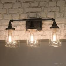 Bathroom lighting chandelier Crystal Shop Luxury Industrial Bathroom Light 11 The Runners Soul Shop Luxury Industrial Bathroom Light 11